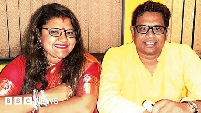 Saumitra Khan: India MP threatens to divorce wife who switched party #world #BBC_News