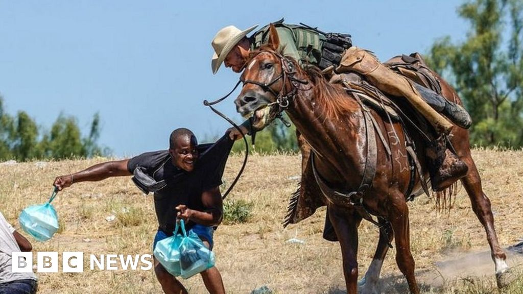 , Grim echoes of history in images of Haitians at US-Mexico border, The Evepost BBC News