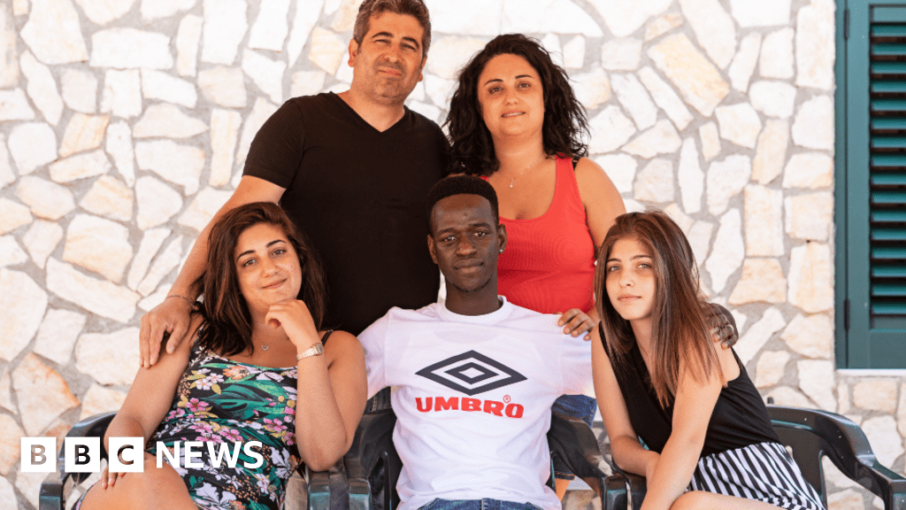 Italian family fosters Gambian migrant: 'The son we never had'