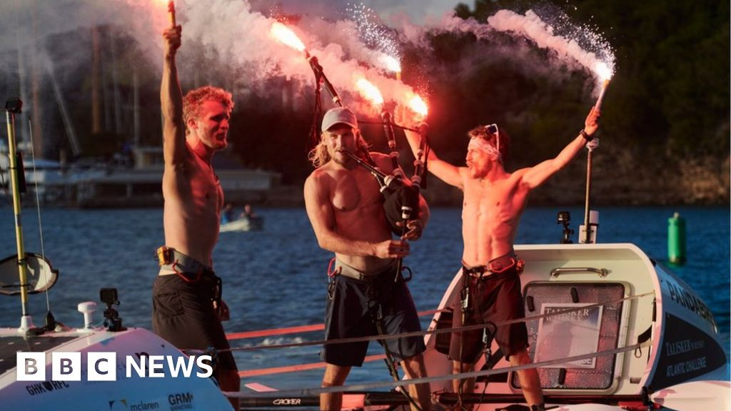 The Edinburgh brothers set world rowing records in the Atlantic