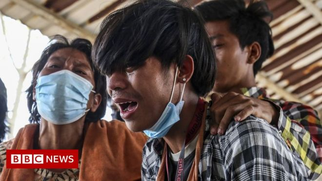 Myanmar coup: More than 40 children killed by military, rights group says #world #BBC_News