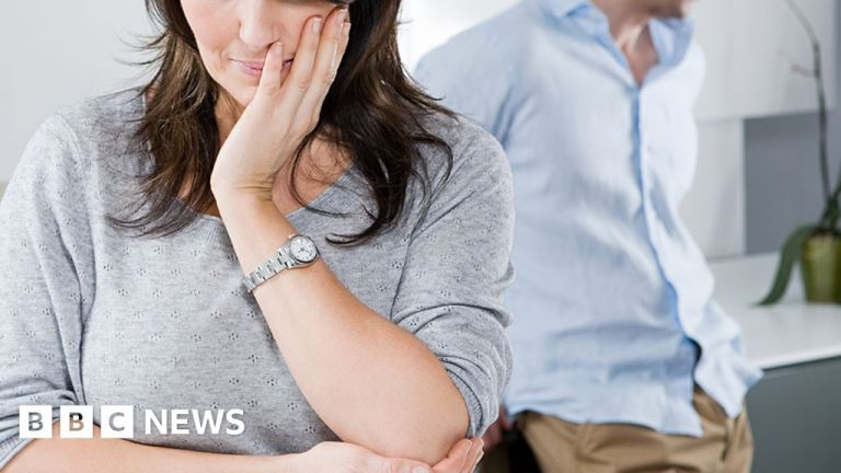 Watch Big rise in home abuse instances being dropped in England and Wales – BBC English News