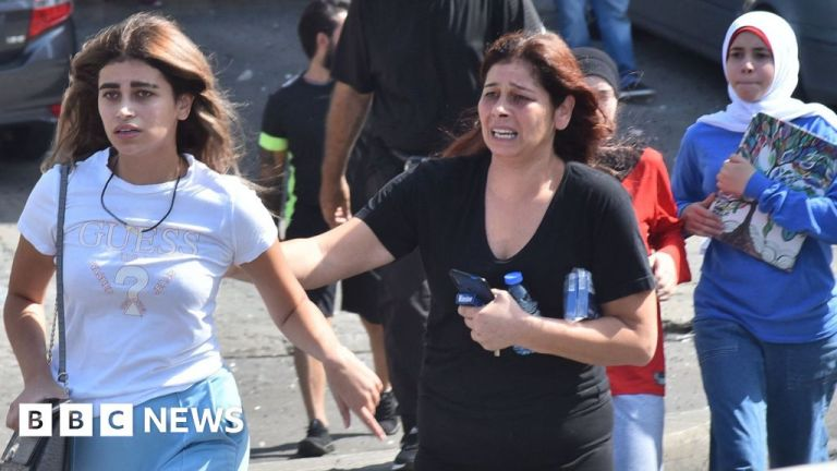 Watch Beirut port blast: Day of mourning in Lebanon after bloodshed at protest – BBC English News