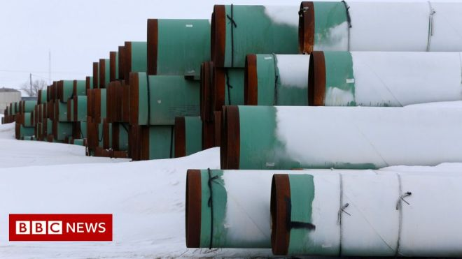 Keystone pipeline: Biden 'to cancel it on his first day' #world #BBC_News