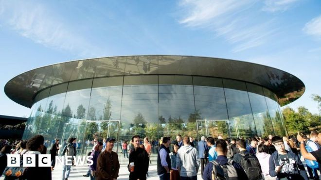 Apple employees rally against office working plan #world #BBC_News