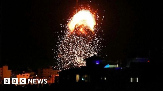 Gaza-Israel conflict: Israel defends strategy as death toll mounts #world #BBC_News
