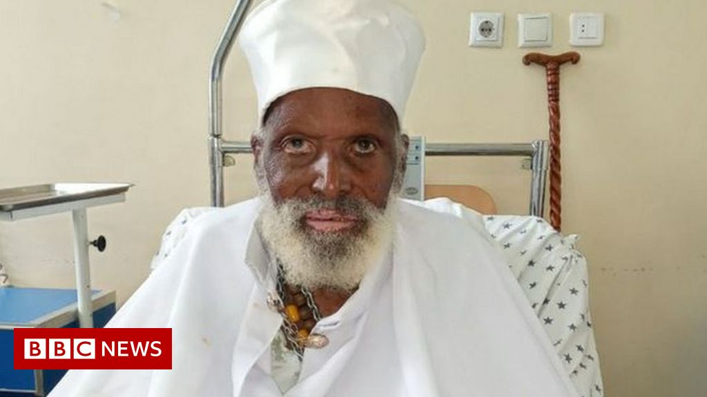 Photo of Ethiopian 'aged over 100' recovers from Covid-19