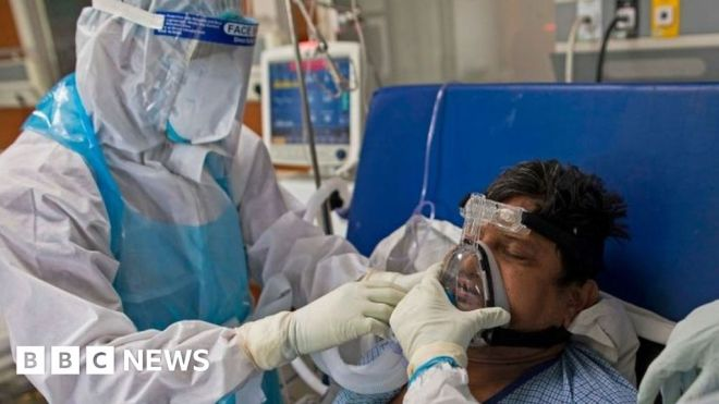 India Covid-19: 'No end in sight' as doctors battle second wave #world #BBC_News