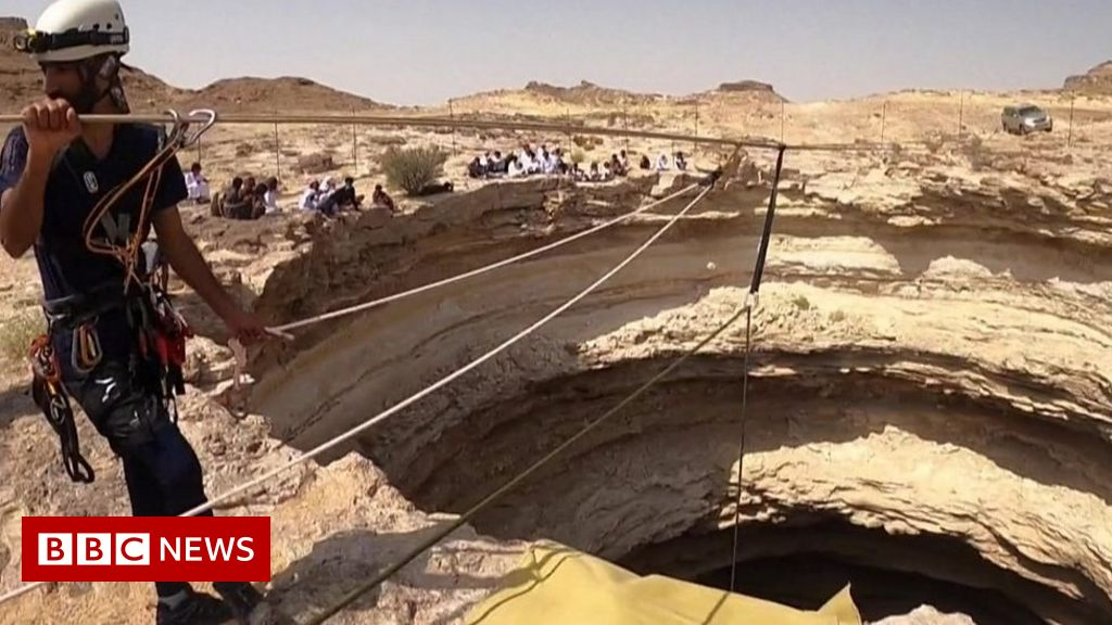 , Cavers descend into Yemen's 'Well of Hell' for first time, The Evepost BBC News