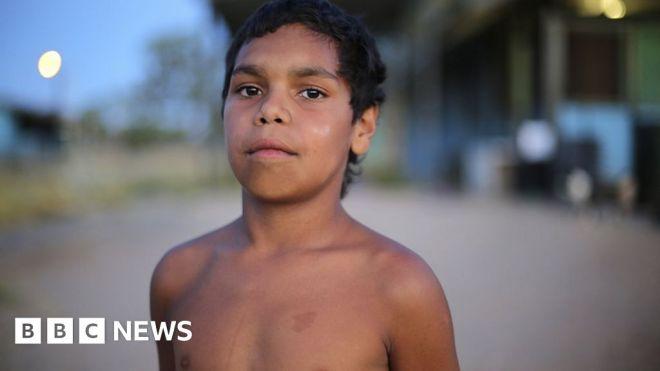 The 'smart and cheeky' Aboriginal boy teaching Australia a lesson #world #BBC_News