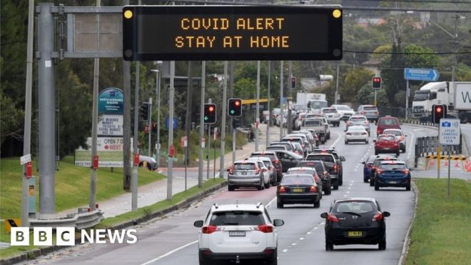 Covid in Sydney: Victoria toughens border restrictions to curb outbreak #world #BBC_News