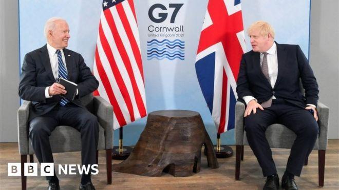 G7: UK and US in complete harmony over Northern Ireland – Boris Johnson #world #BBC_News