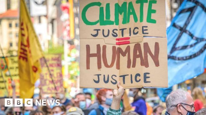 Carbon: How calls for climate justice are shaking the world #world #BBC_News