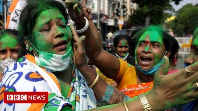 India elections: Modi party defeated in battleground West Bengal #world #BBC_News