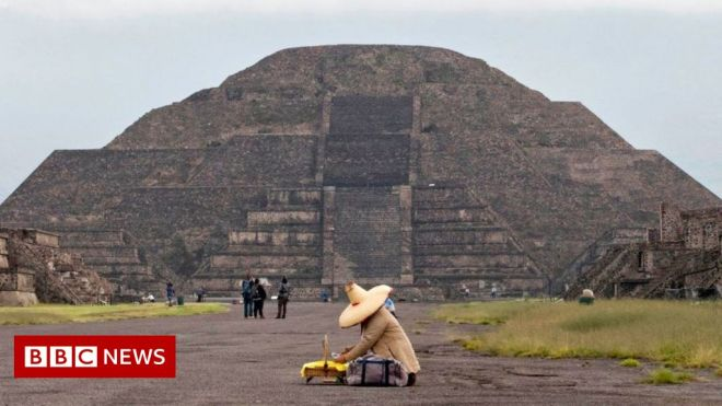 Teotihuacán: Alarm over construction near ancient site #world #BBC_News
