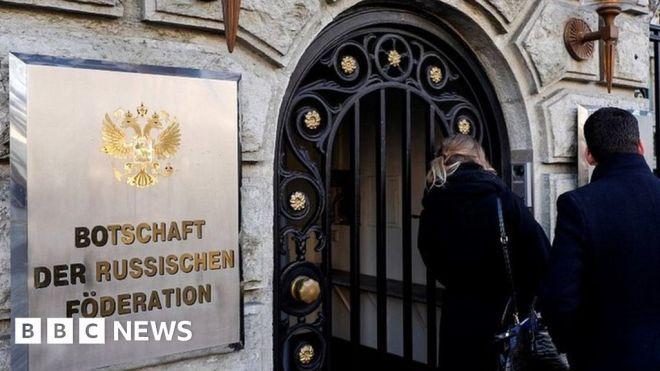 EU states expel three Russian diplomats in tit-for-tat #world #BBC_News