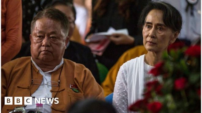 Myanmar coup: Crackdown tightened with Win Htein arrest #world #BBC_News
