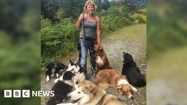 Dogs help woman survive the Canadian wild