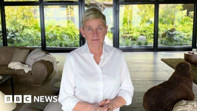 TV Host Ellen DeGeneres tests positive for Covid-19 #world #BBC_News