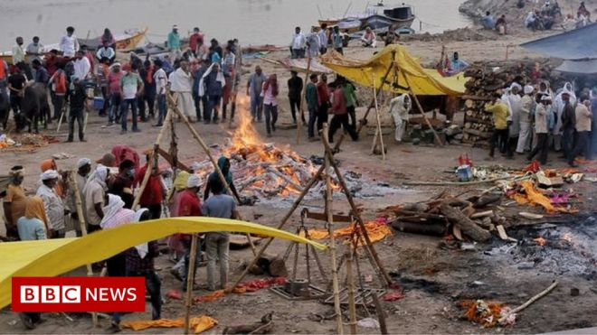 Covid in Varanasi: Anger rises as coronavirus rages in Modi's constituency #world #BBC_News