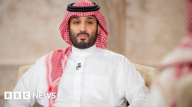 Saudi Arabia's crown prince seeks good relations with Iran #world #BBC_News