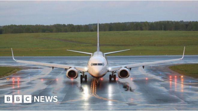 Belarus plane arrest – is it a first? #world #BBC_News