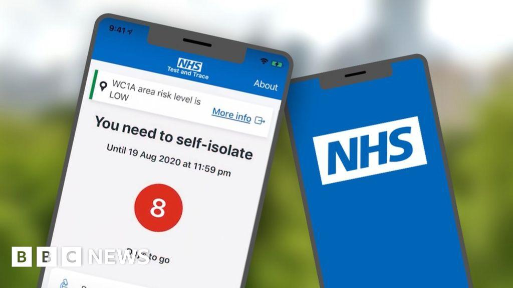 Coronavirus: England's contact tracing app trial gets under way