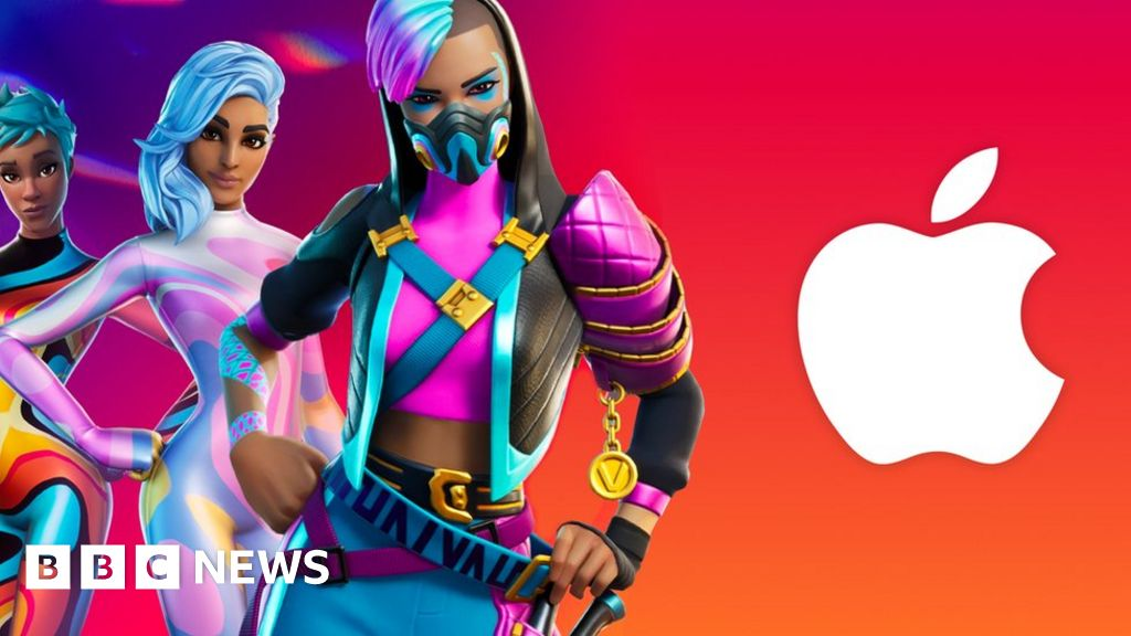 , Apple bans Fortnite from App Store during Epic Games legal battle, The Evepost BBC News