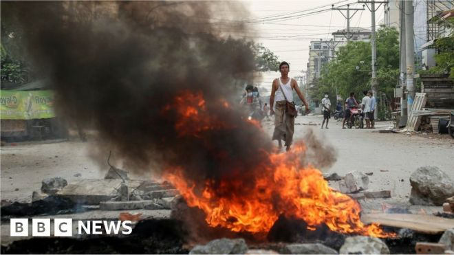 Myanmar coup: Seven-year-old girl 'killed by security forces' #world #BBC_News