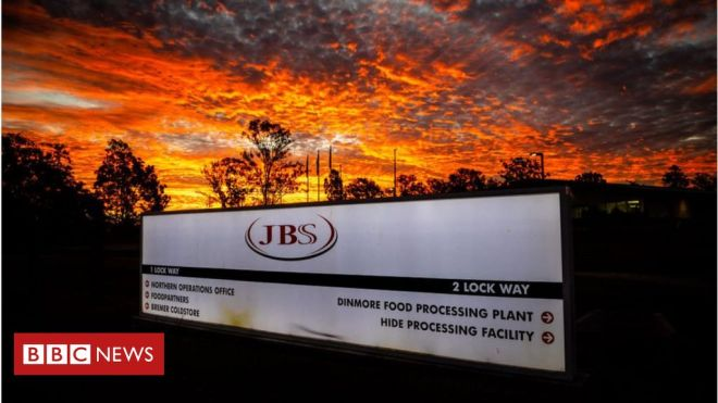 Meat giant JBS pays m in ransom to resolve cyber-attack #world #BBC_News