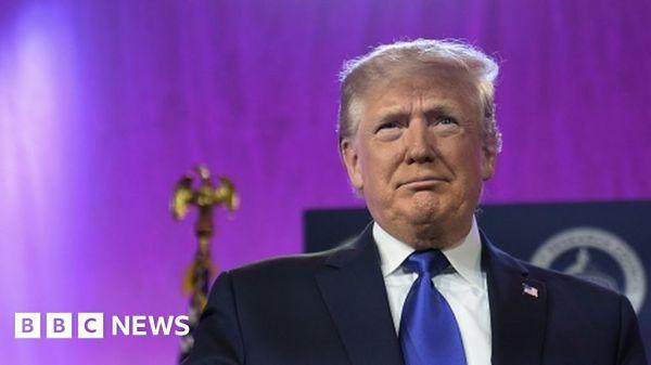 Trump campaign disowns parody media massacre video