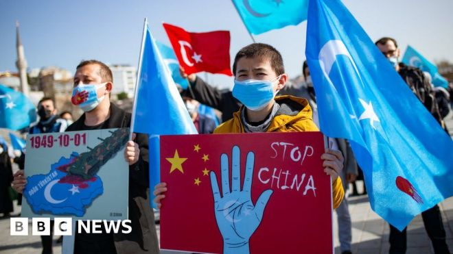China has created a 'dystopian hellscape' in Xinjiang, Amnesty report says #world #BBC_News