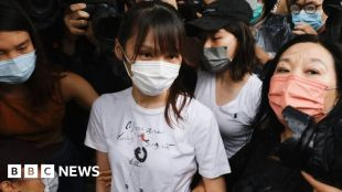 Hong Kong activist Agnes Chow released from prison #world #BBC_News