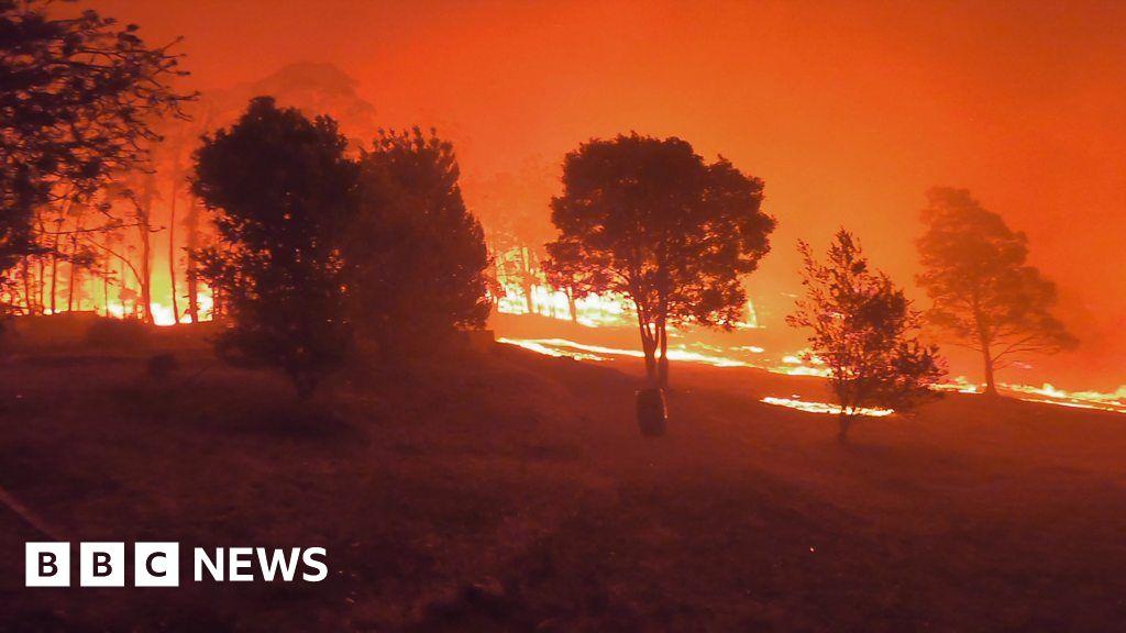 , Life at 50C: Heat hitting home in Australia, The Evepost BBC News
