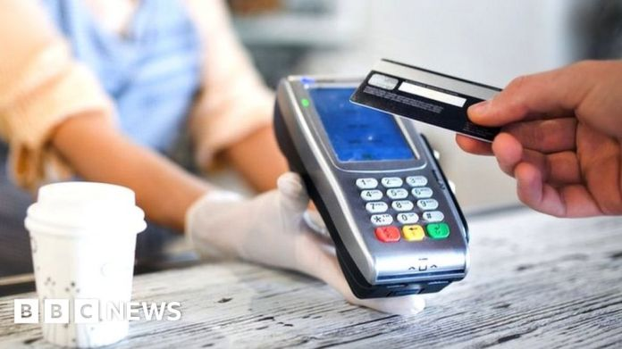 Watch Consumers begin to use new £100 contactless fee restrict – BBC Business News