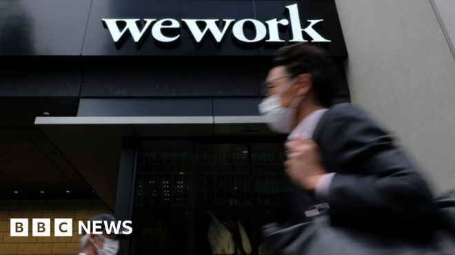 WeWork reports loss of nearly .1bn ahead of stock market debut #world #BBC_News
