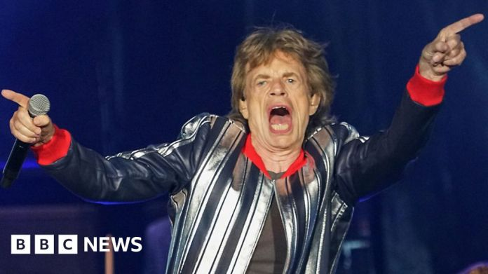 Watch Rolling Stones drop Brown Sugar from US tour set listing – BBC English News