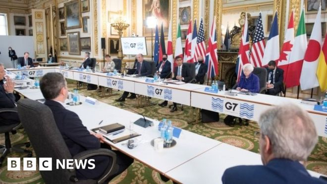 G7 tax deal doesn't go far enough, campaigners say #world #BBC_News