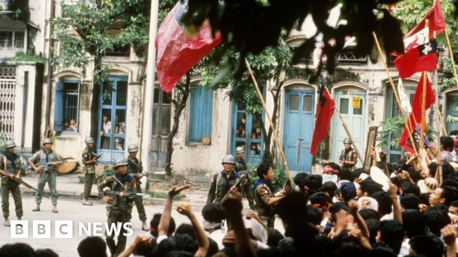 Myanmar coup: What protesters can learn from the '1988 generation' #world #BBC_News