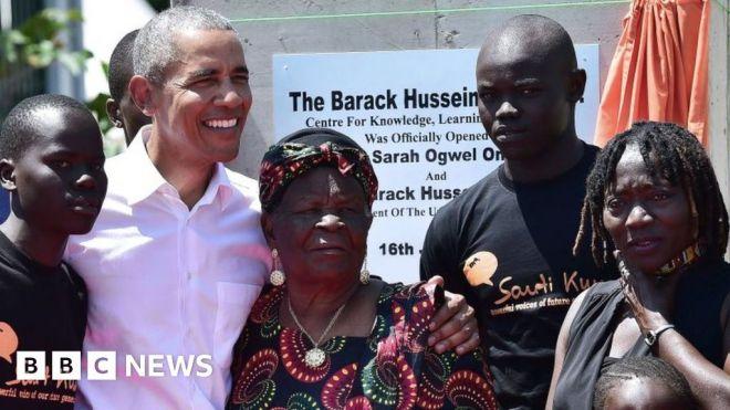 Barack Obama's Kenyan grandmother dies, aged 99 #world #BBC_News