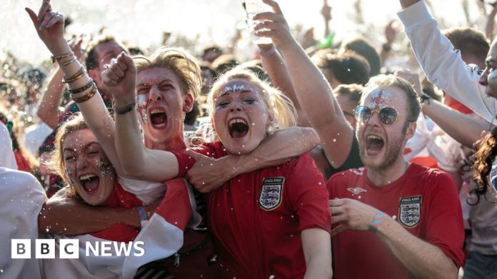World Cup 2018: England glued to semi-final