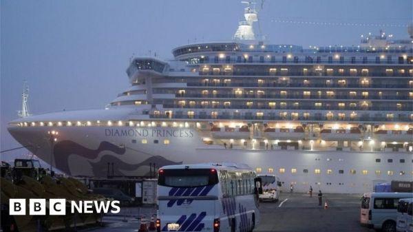 Coronavirus: Americans from quarantined cruise ship flown from Japan