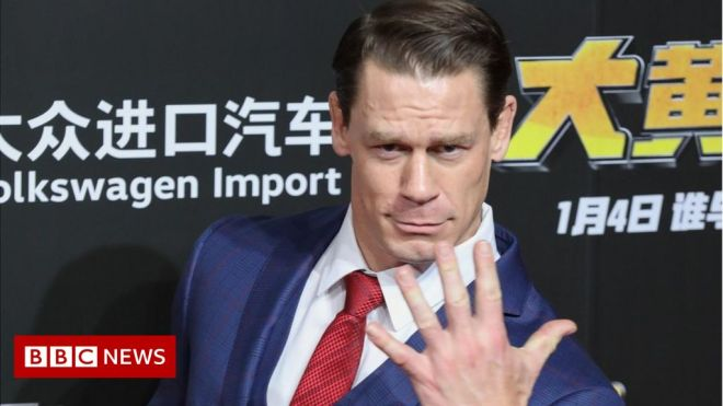 John Cena: Fast and Furious star sorry over Taiwan remark backlash #world #BBC_News