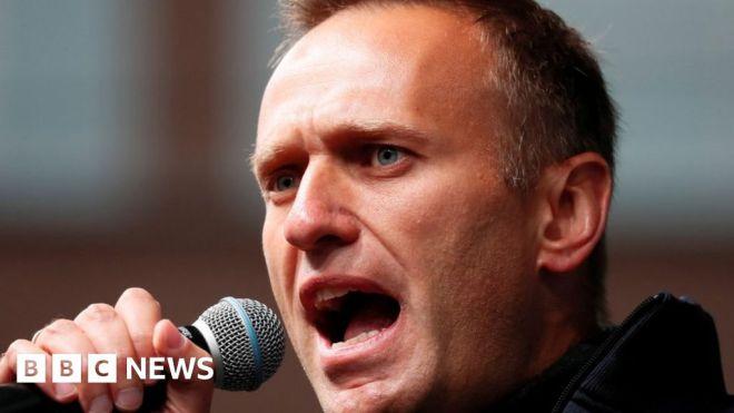 Navalny: Jailed Putin critic 'has cough and temperature' #world #BBC_News
