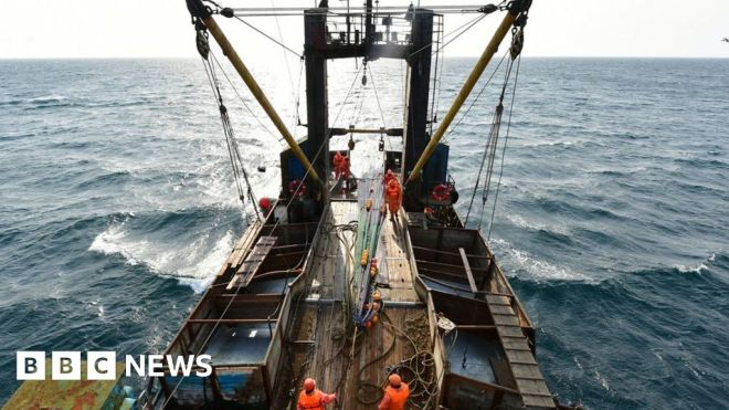 Fish 'not as carbon friendly' as previously thought #world #BBC_News
