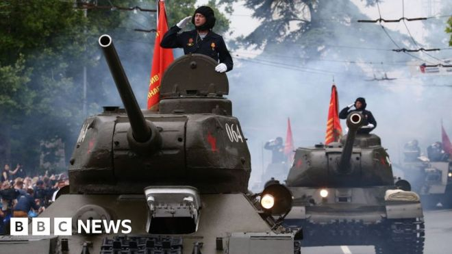 Ukraine conflict: Moscow could 'defend' Russia-backed rebels #world #BBC_News