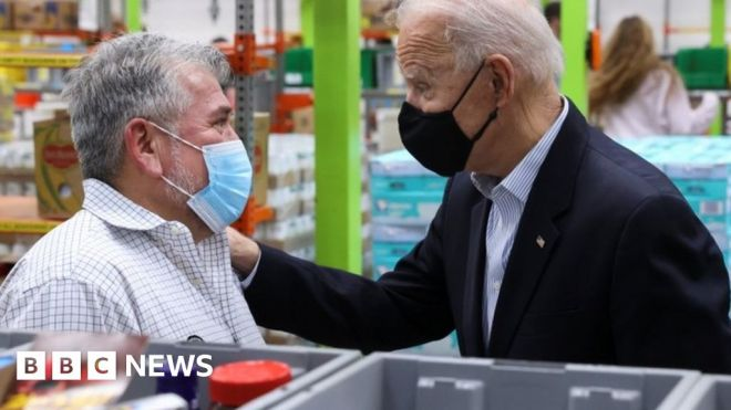 Texas weather: Biden visits state amid recovery from deadly cold snap #world #BBC_News