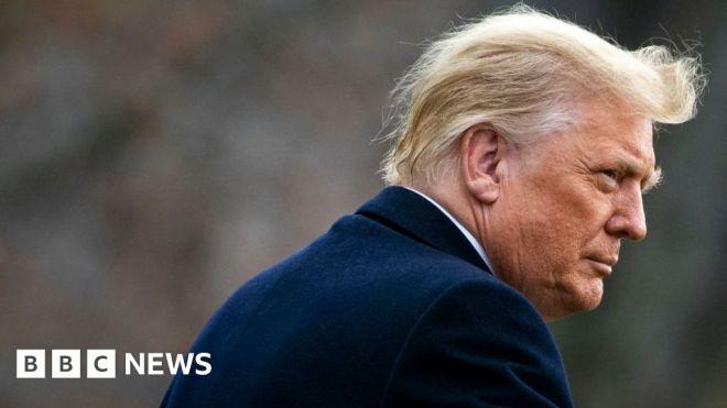 Trump launches new 'communications' platform #world #BBC_News