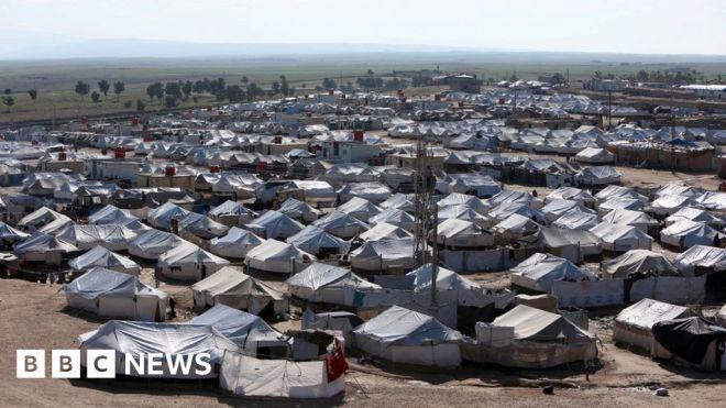 Kurdish-led campaign under way to rid al-Hol camp of IS #world #BBC_News