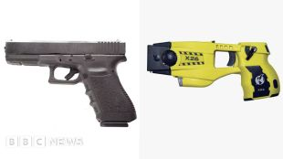 Daunte Wright shooting: How can you mistake a gun for a Taser? #world #BBC_News